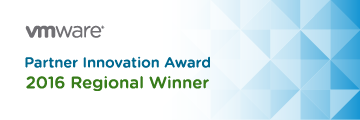 VMware Partner Innovation Award 2016 Regional winner