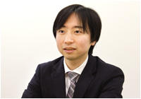 株式会社ベビーロック 管理本部 業務部 係長 川岸 謙太郎氏